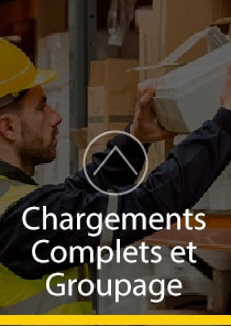 chargements complets et groupage