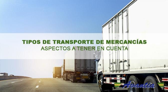 La elección entre los diferentes tipos de transporte de mercancías a la hora de confeccionar el plan de estrategia de logística y distribución